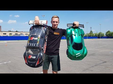 AUDI R8 против Hobao Hyper VT ... Мощные тачки 100+ км/ч - UCvsV75oPdrYFH7fj-6Mk2wg