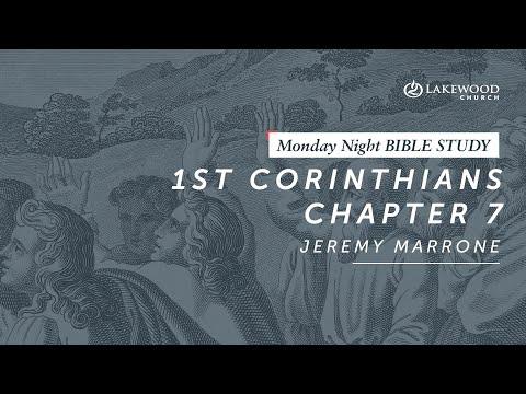 1 Corinthians 7  Jeremy Marrone (2019)