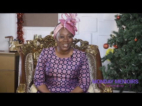 MONDAY MEMOIRS WITH DR BECKY - DECEMBER 28, 2020