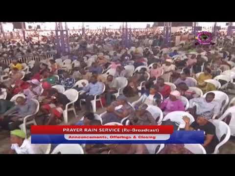 MFM PRAYER RAIN FRIDAY APRIL  24TH, 2020