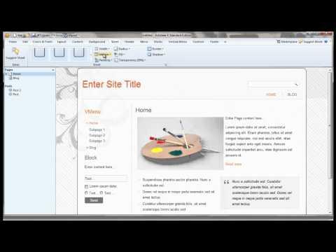 artisteer 6- Sheet – شرح وتعديل الشيت