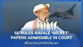 #ElectionsWithVikram: Rafale Setback for Government