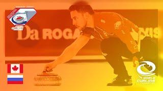 Quarter-final - World Mixed Doubles Curling Championship 2019