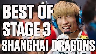 The Shanghai Dragons' best moments from Stage 3 | ESPN Esports