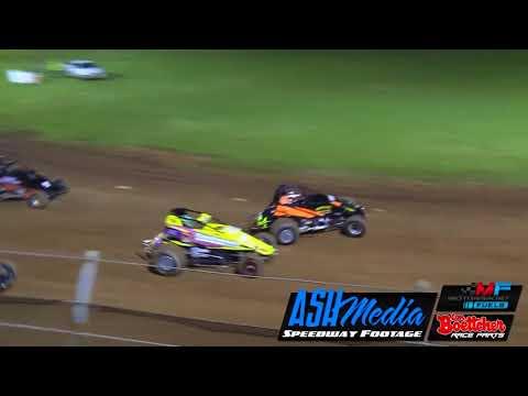 Wingless Sprints: Race Highlights - Kingaroy - Nov 2017 - dirt track racing video image