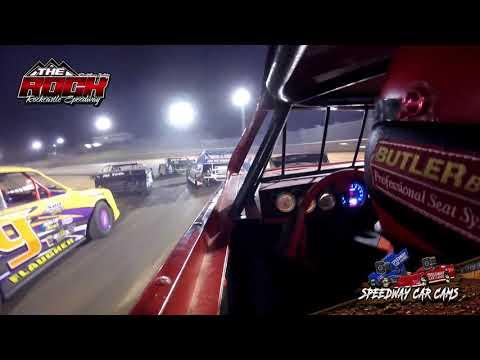 #93w Joseph Whalen - Mini Stock - 6-26-21 Rockcastle Speedway - In-Car Camera - dirt track racing video image