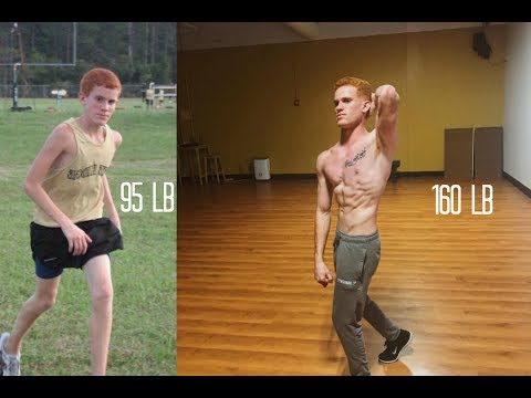 Insane Ectomorph Natural Skinny Body Transformation - Aesthetic transformation - default