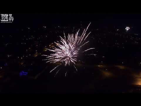 2017-12-31 - Sylwester w Niemczu z drona 4K