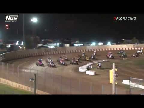 USAC NOS Energy Drink National Midget Highlights   Angell Park Speedway   Firemen's Nats   9/5/2021 - dirt track racing video image