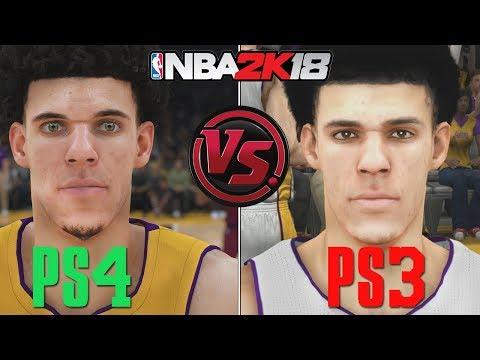 NBA 2K18 - PS4 vs PS3 Graphics/Face/Gameplay COMPARISON | Current Gen vs Last Gen - default