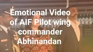 Pakistan to release Wing Commander Abhinandan today: Emotional Video of AIF Pilot