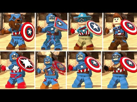 LEGO Marvel Super Heroes 2 - All Captain America Characters - default