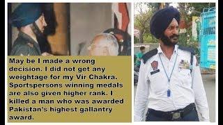 Kargil War hero & Vir Chakra awardee now manages traffic in Punjab