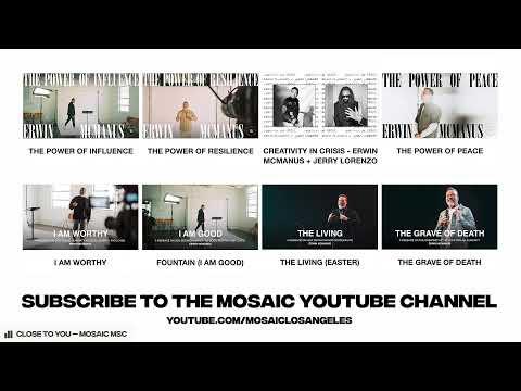 PLAYLIST FOR GRATITUDE  David Arcos - MOSAIC:ONLINE