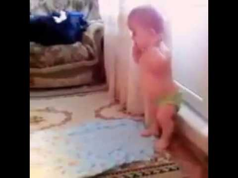 Check How This Cute Baby Praying Namaz With Takbeer