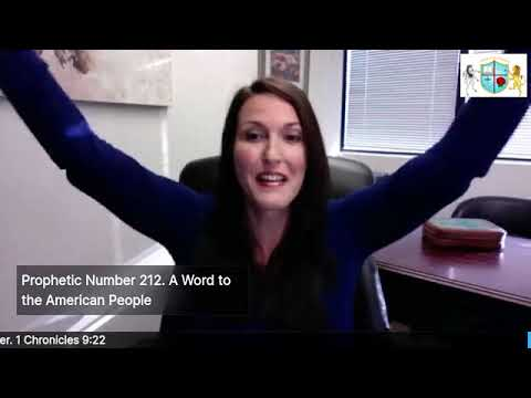 Prophetic Number 212: Prophetic Word for America