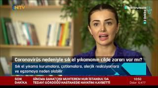 Dr. Kübra Esen Salman - Coronavirüs nedeniyle sık el yıkamak zararlı mı? - NTV