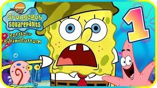SpongeBob Battle for Bikini Bottom Walkthrough Part 1 (PS2) Intro + Jellyfish Fields ᴴᴰ
