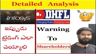 DHFL & Infosys share trade setup & latest news by trading marathon | Price Action