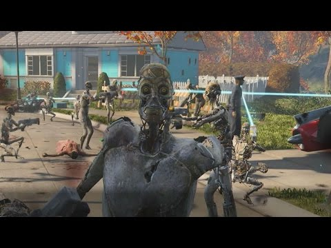 Accidentally Unleashing 50 Synths In Fallout 4's Opening Scene - IGN Plays Live - UCKy1dAqELo0zrOtPkf0eTMw