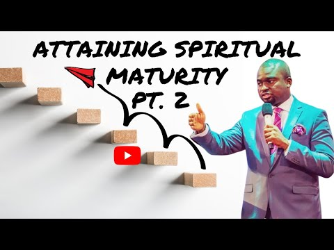THE SCHOOL OF TYRANNUS  ATTAINING SPIRITUAL MATURITY (PART 2)  DAVID OYEDEPO JNR