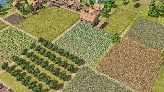 Banished   Ep. 10   City Population Grows, Full Scale Farm    Banished City Building Tycoon Gameplay