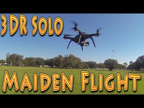 Review: 3DR Solo Smart Drone Maiden Flight!!! (11.11.2015) - UC18kdQSMwpr81ZYR-QRNiDg