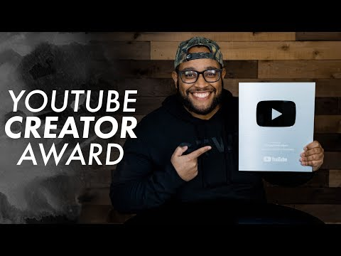 HungryGen Received Silver YouTube Award for 100k Subscribers!