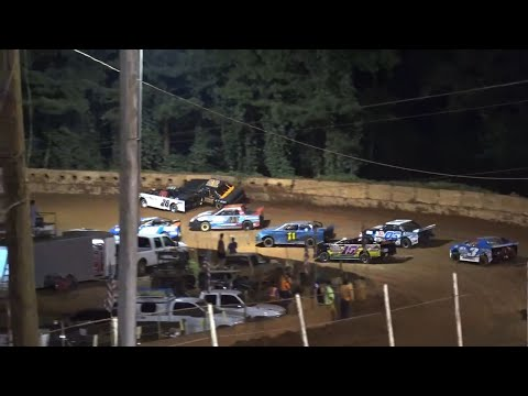 Stock 4a at Winder Barrow Speedway August 21st 2021 - dirt track racing video image