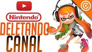 Nintendo está DELETANDO canais de YOUTUBERS