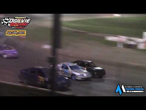 Ogilvie Raceway WISSOTA Hornet A-Main (7/10/21) - dirt track racing video image
