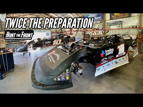 Two Cars to Senoia Raceway! We're Doubling Up for a Big Race Weekend - dirt track racing video image