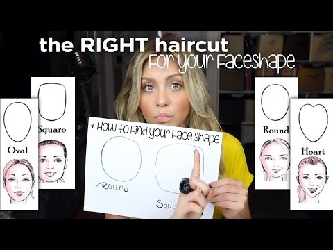 Best HairCut For Your FaceShape - And How To Find Your Face Shape - ellebangs