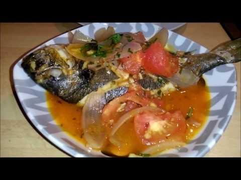sudado de pescado peruano facil 2018 plato tipico peruano -comida peruana aprenda  peru en tu cocina