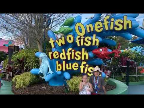 One Fish, Two Fish, Red Fish, Blue Fish Ride at Seuss Landing - Islands of Adventure at Universal