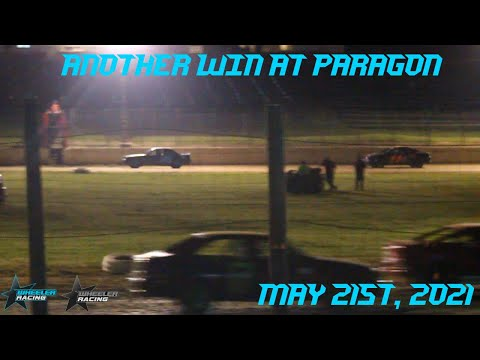 Another Win at Paragon Speedway!   Hornet Racing - dirt track racing video image