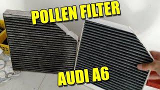 Cambiare filtro abitacolo AUDI A6 C7