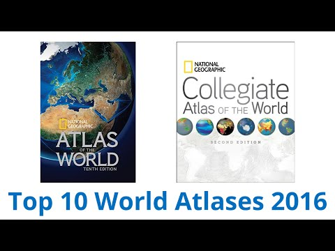 10 Best World Atlases 2016 - UCXAHpX2xDhmjqtA-ANgsGmw