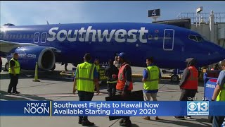 Southwest Flights To Hawaii Available Beginning January 2020