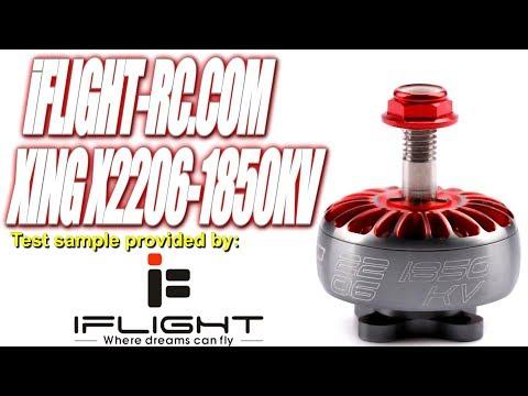 iFlightRC XING X2206-1850KV 6S Thrust Tests - UCV57o-UZ3ny_pn5uZTOO5oQ