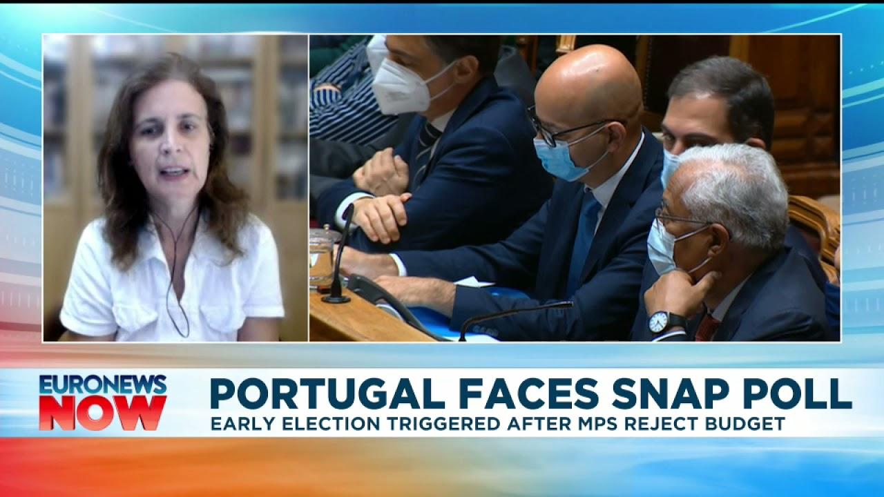 Portugal faces snap poll, interview with Paula do Espírito Santo | Euronews