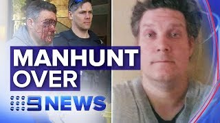 'Most wanted' Jonathan Dick arrested in Melbourne after two years on the run | Nine News Australia