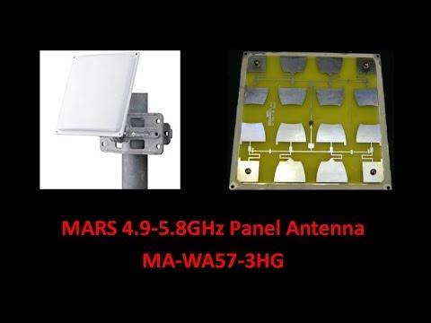 MARS 4 9 to 5 8GHz Panel Antenna MAWA57 3HG - UCHqwzhcFOsoFFh33Uy8rAgQ