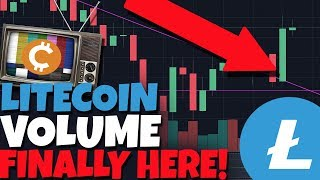 LITECOIN FINALLY GETS THE VOLUME IT DESERVES. WE'RE HEADED UP!