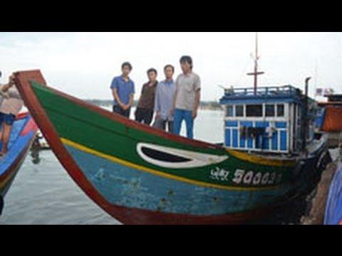 Trung Quốc thả ngư dân Việt bị bắt ở Hoàng Sa