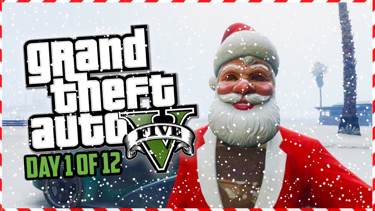 Gta 5 Funny Moments Epic Reindeer Races Stunts Jumps