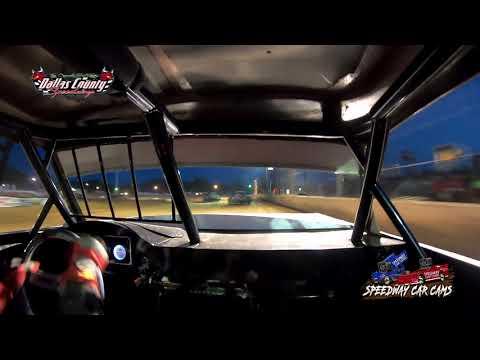 #21d Darren Phillips - Usra Stock Car - 5-14-2021 Dallas County Speedway - In Car Camera - dirt track racing video image