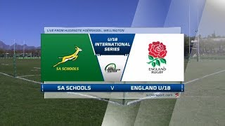 U18 Rugby | SA Schools vs England | Highlights