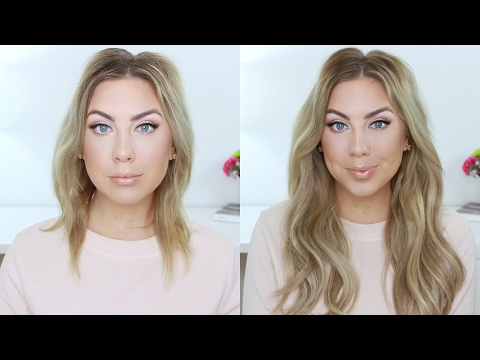 The BEST Hair Extensions EVER ! HaloCouture + Blonde Hair Hack! - UCYq115GnycUWzt0oUPzTjwQ