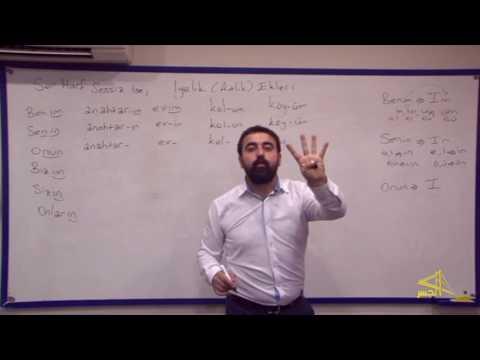 """تعلم اللغة التركية مع الأستاذ ابراهيم اسكي اوجاك الحلقة """" 12 """""""